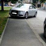 SKANDAL: Pauk u Banjaluci odnio Audija sa zelene površine!